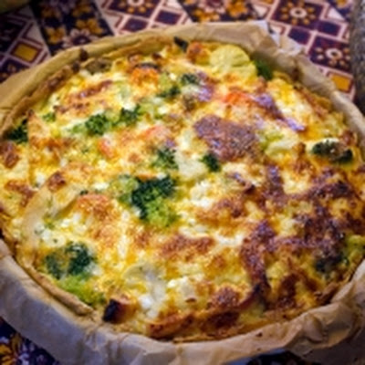Brocolli Quiche