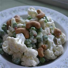 Pea and Cauliflower Salad