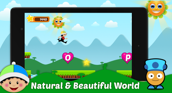ABC Runner kid - screenshot