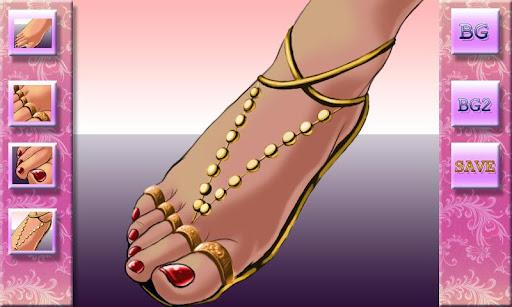 菲奧娜的修腳設計師