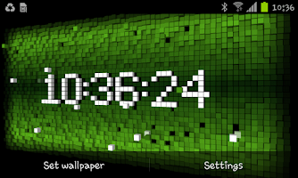 Screenshot of Cube City 3D Live Wallpaper