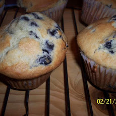 Jumbo Large Top Chocolate Chip (Or Blueberry) Muffins