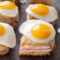 Mini Croque Madames