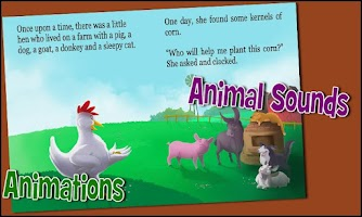 Screenshot of Little Hen - A kids story app