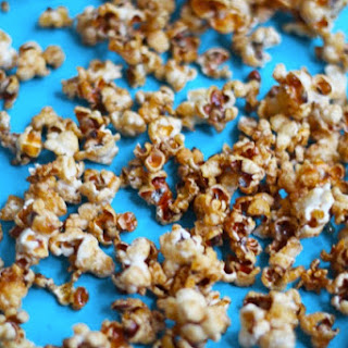 Tailgating Fun with Mariano's! Healthy Babycake Caramel Apple Popcorn