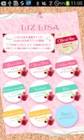 Screenshot of LIZ LISA OfficialLiveWallpaper