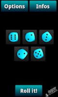 Screenshot of Dice (by SAX)