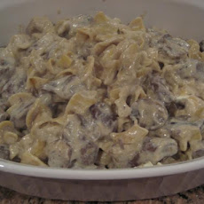 Easy One-Dish Beef Stroganoff