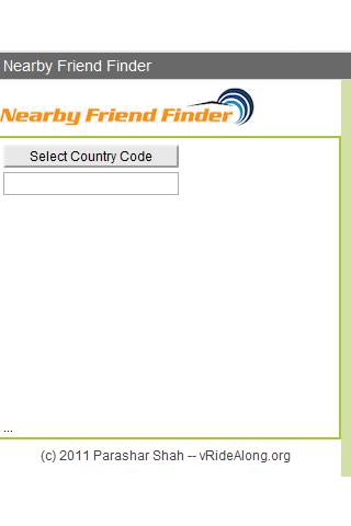 Nearby Friend Finder