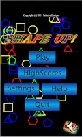 Screenshot of ShapeUp