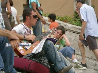 el ritmo de la Piazza di spagna