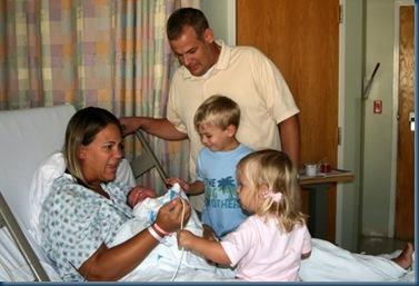 Rob & family