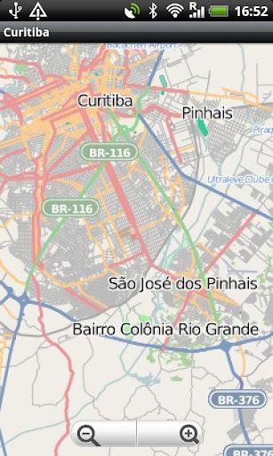 Curitiba Street Map
