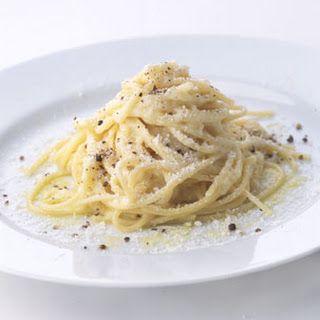 Spaghetti with Pecorino Romano and Black Pepper