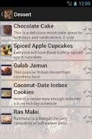 Screenshot of Recipe Book