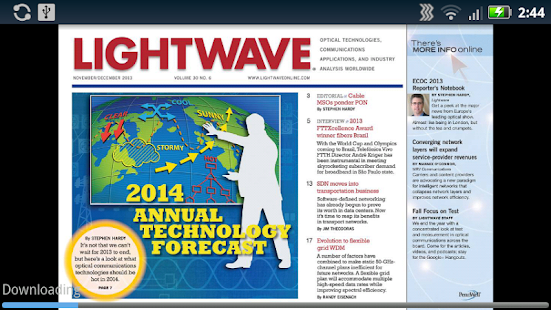 Lightwave Digital Magazine - screenshot