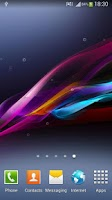Screenshot of Xperia Z Ultra Live Wallpaper