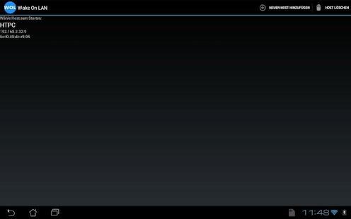 Wake On LAN – Miniaturansicht des Screenshots