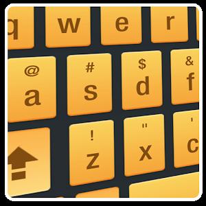 Blackgold Smart Keyboard skin For PC