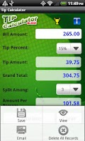 Screenshot of Tip Calculator Slick