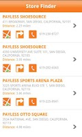 Screenshot of Payless ShoeSource