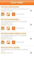 Screenshot of Payless ShoeSource