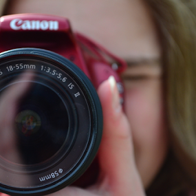 Window to the Soul by Selah Madland - People Portraits of Women ( canon, picture, red, camera, shot )