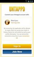 Screenshot of BeerSpec