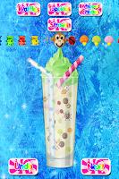 Screenshot of Celebrity Frozen Milkshakes