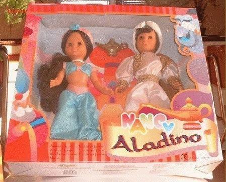 Juguetes Nancy Jasmin Y Lucas Aladdín Serie Cuentos De Famosa