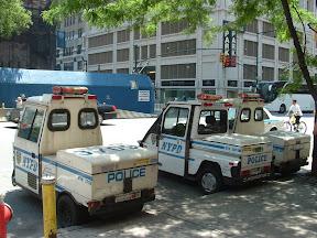 Samochod policyjny NY