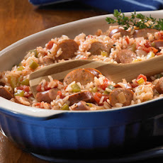 Johnsonville® Cajun Style Chicken Sausage Rice Skillet