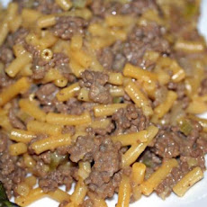 Meaty Macaroni and Cheese