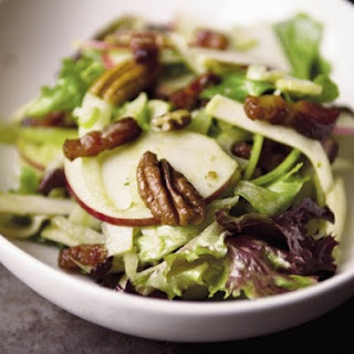 Food52's Not-Too-Virtuous Salad with Caramelized Apple Vinaigrette