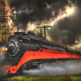 Daylight Twilight by Nickel Plate Photographics - Transportation Trains