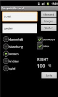 Screenshot of German French Dictionary