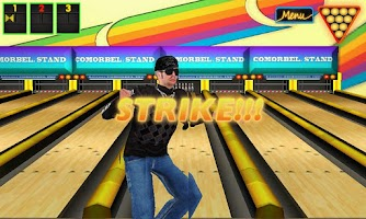 Screenshot of Real 3D Bowling (HarlemStrike)