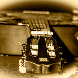My Old Guitar by Marcelo Cid Valerio - Artistic Objects Musical Instruments (  )
