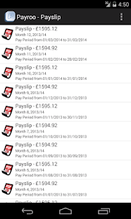 Free Payroo Mobile Payslip APK for PC