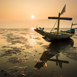 Faith by Yossy Ryananta - Transportation Boats ( shore, warm, kenji, beach, boat, sun )