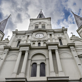 St. Louis Cathedral by Edward Nelson - Buildings & Architecture Places of Worship ( new orleans, renaissance architecture, church, cathedral, spanish colonial architecture )