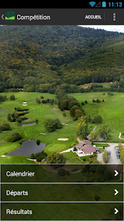 Golf de Rougemont le Chateau - screenshot