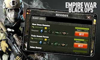 Screenshot of Empire War: Black Ops