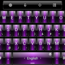 Theme TouchPal Dusk Purple