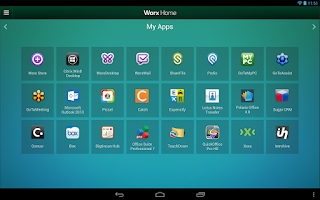 Screenshot of Worx Home by Citrix