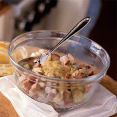 Dijon-Potato Salad with Smoked Chicken Sausage