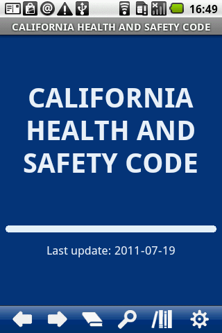 California Health Safety C.