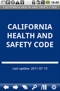 California Health & Safety C. - screenshot
