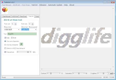 要有ASCII码的效果还是Courier New字体比较好