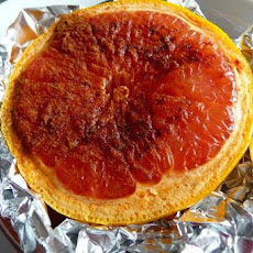 Broiled grapefruit, KID-PLEASER - adults too!